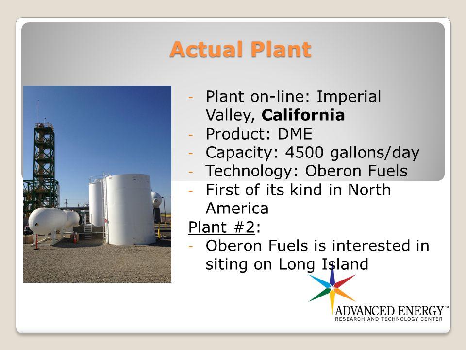 Proposed Partners Oberon Fuels, Inc.