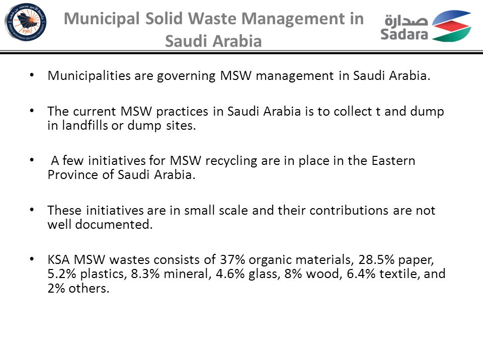 Landfill Area Saving Forecast Based on Mass Burn With Recycling Scenario Environmental Values of WTE in Saudi Arabia