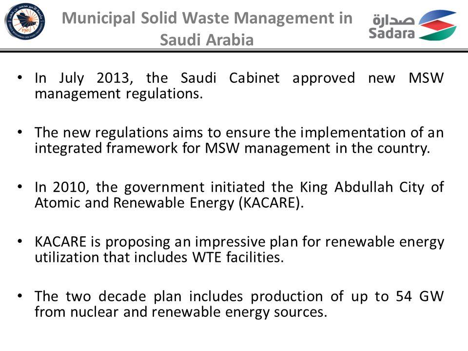 Landfill Area Saving Forecast Based on Mass Burn Scenario Environmental Values of WTE in Saudi Arabia