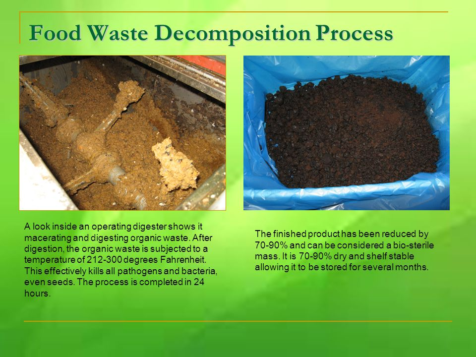 A look inside an operating digester shows it macerating and digesting organic waste.