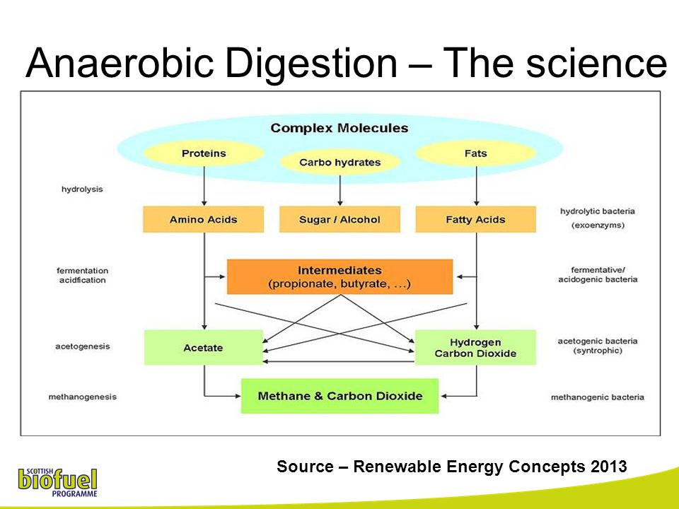 Anaerobic Digestion – The science Source – Renewable Energy Concepts 2013