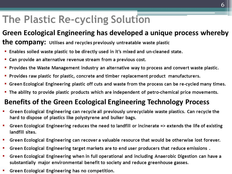 Green Ecological Engineering Process Flow Chart 7
