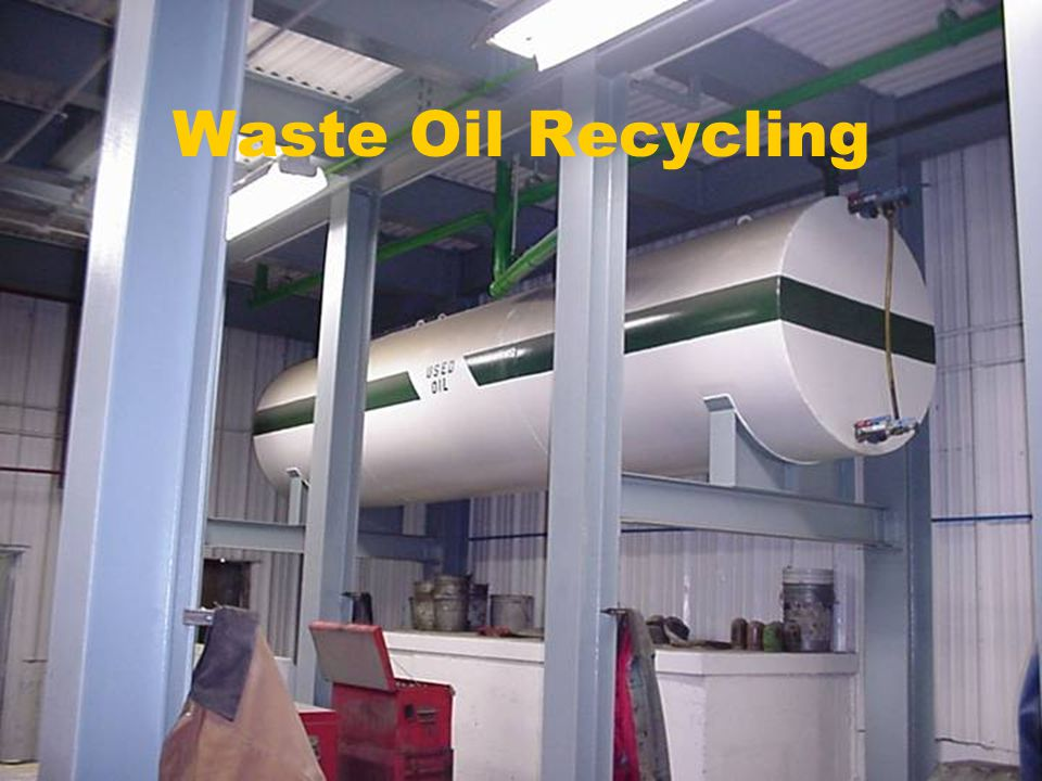 Waste Oil Recycling