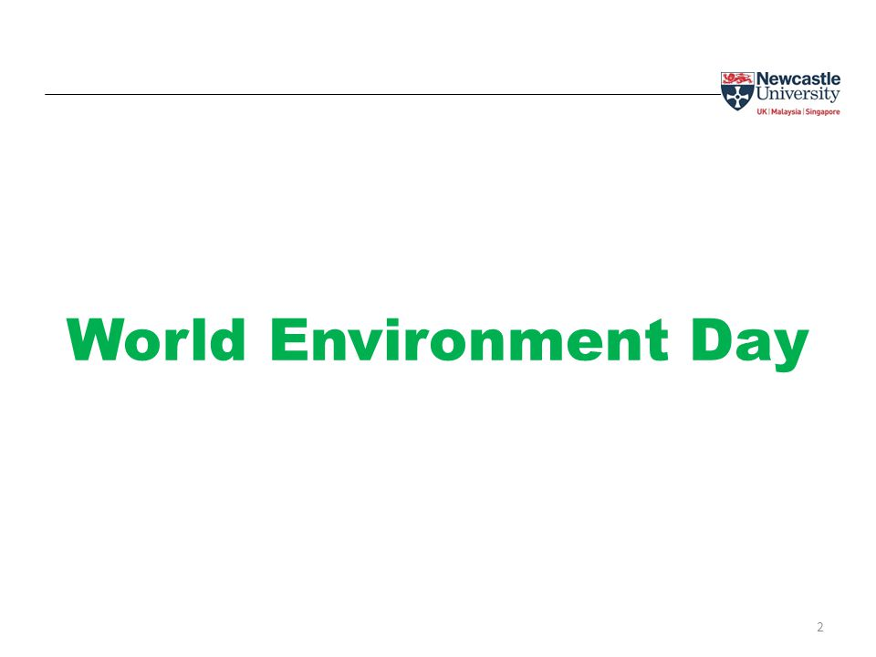 2 World Environment Day