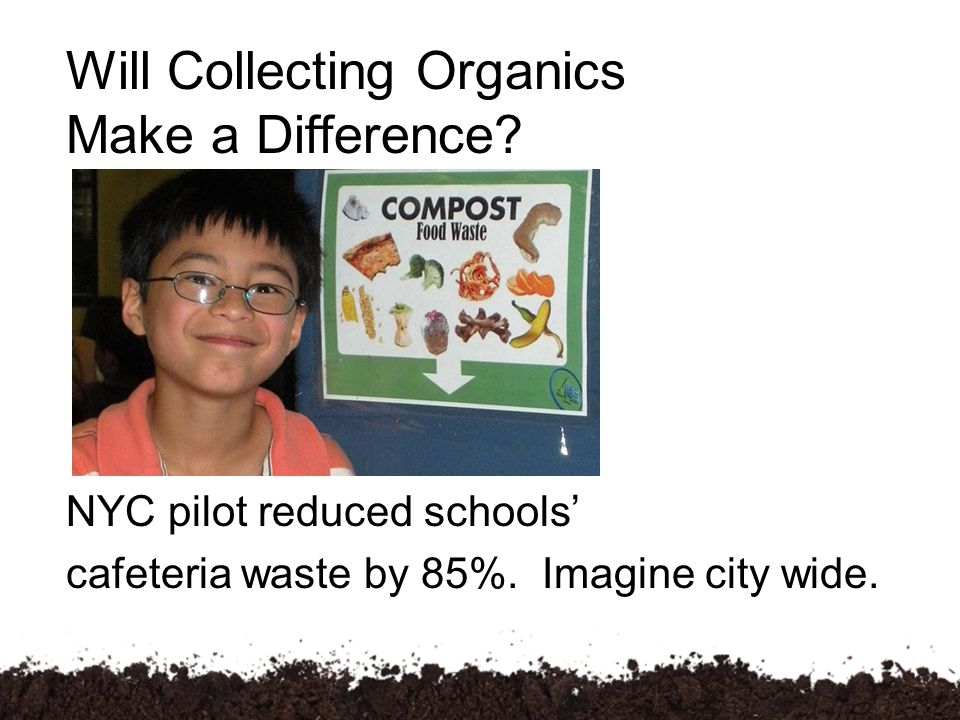 NYC pilot reduced schools' cafeteria waste by 85%.