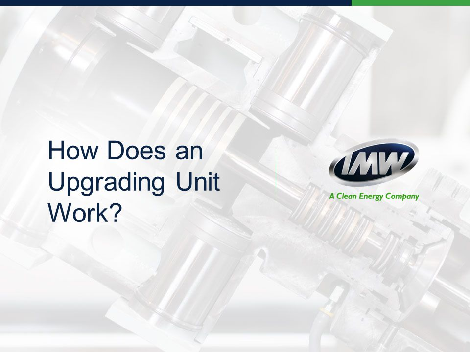 How Does an Upgrading Unit Work?