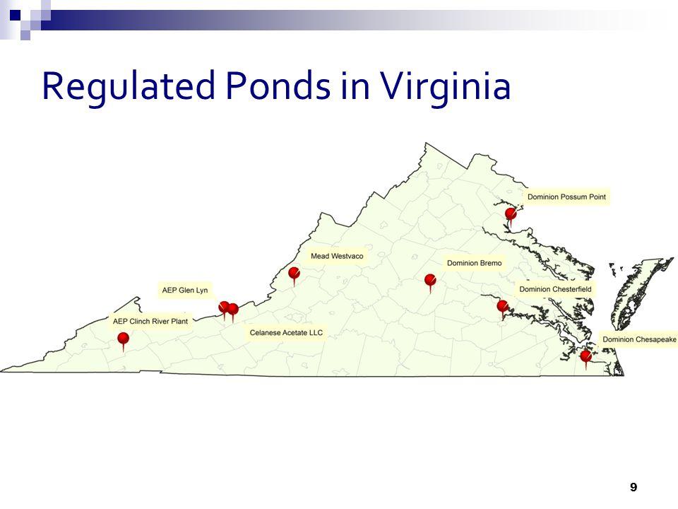 Regulated Ponds in Virginia 9