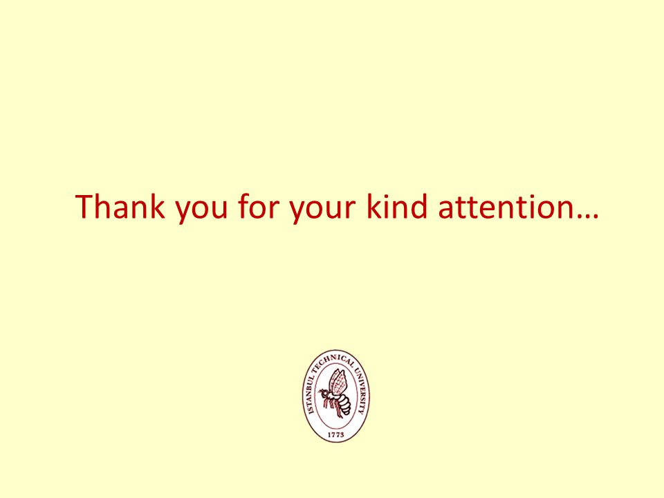 Thank you for your kind attention…