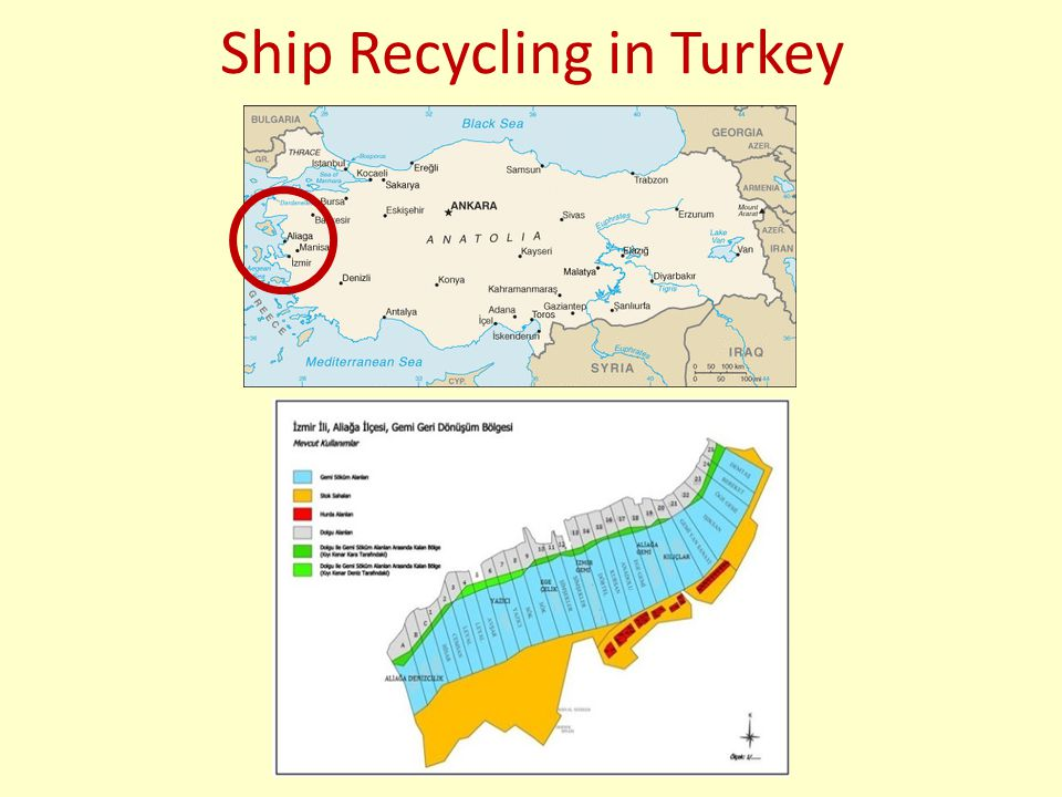Sample Case: Oaklef The ship was towed to LEYAL Ship Recycling Ltd based in Aliaga, Turkey.