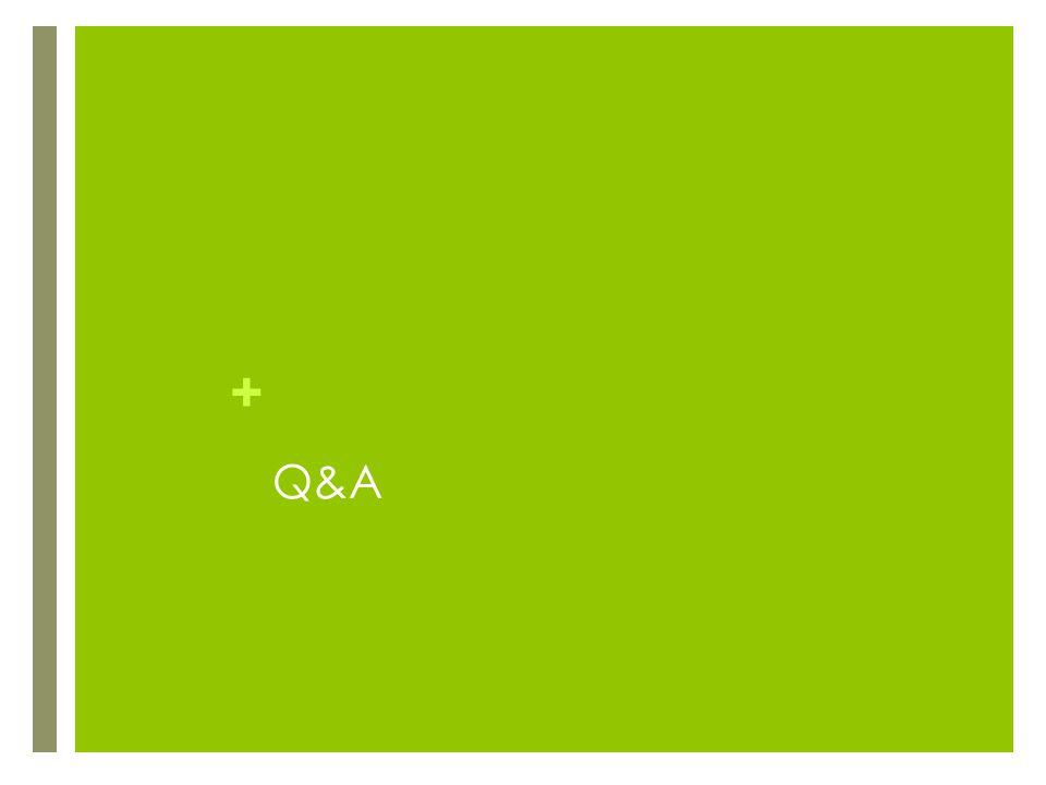 + Q&A