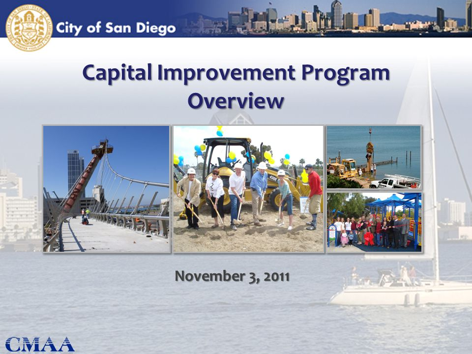 Capital Improvement Program Overview November 3, 2011