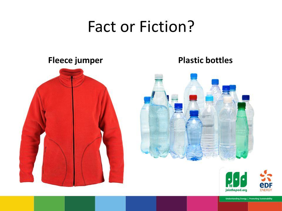Fact or Fiction? Fleece jumperPlastic bottles