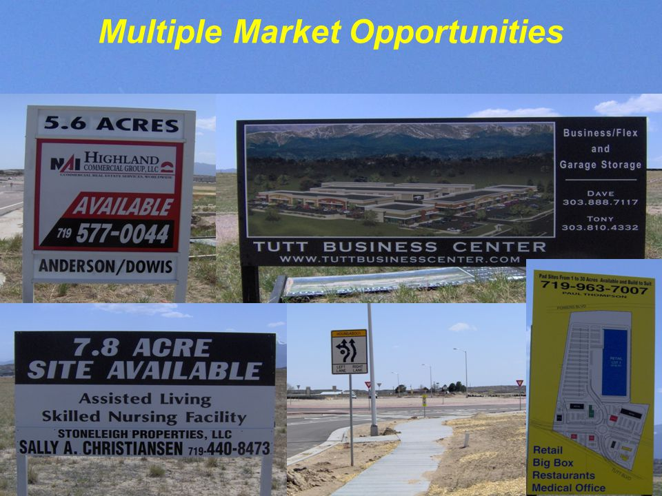 Multiple Market Opportunities