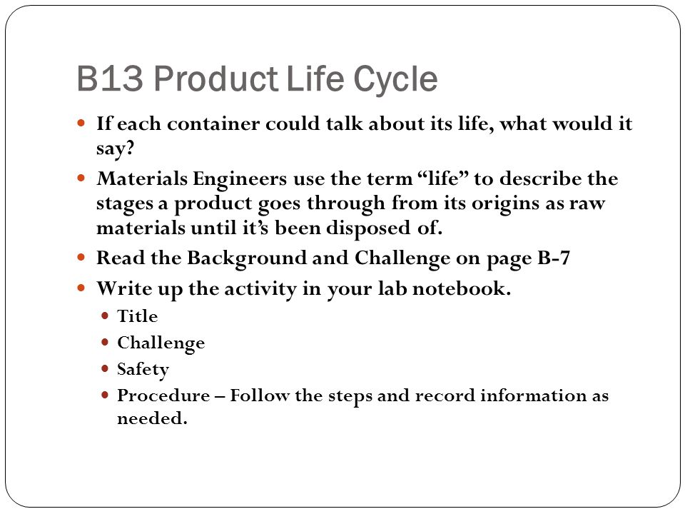Exit Ticket Which stage of the product life cycle is the most important and why do you think that?