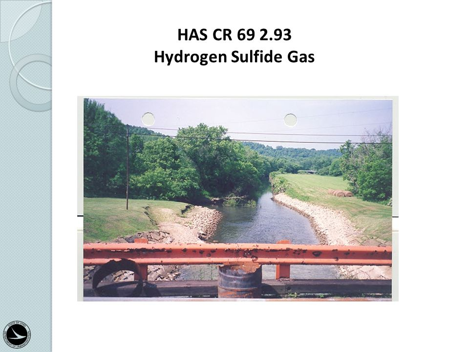 HAS CR 69 2.93 Hydrogen Sulfide Gas Categorical Exclusion Training Class 31