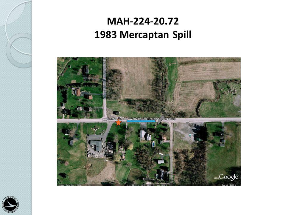MAH-224-20.72 1983 Mercaptan Spill Categorical Exclusion Training Class 33