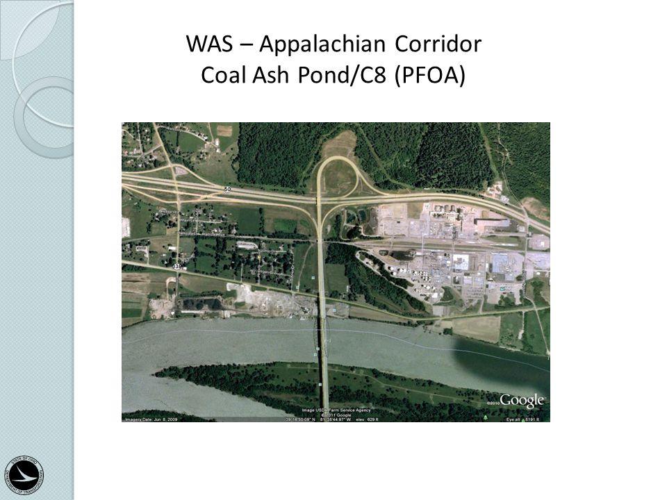 WAS – Appalachian Corridor Coal Ash Pond/C8 (PFOA) Categorical Exclusion Training Class 34