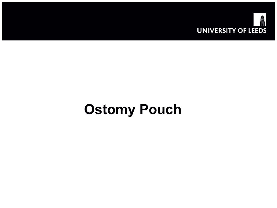 Ostomy pouch Over 120,000 people live with a stoma in the UK o Surgically-created opening in the bowel o Allows the removal of waste out of the body o Into a pouch or other collection device- Ostomy pouch Three main types of stoma o Colostomy, Ileostomy, Urostomy o 1.23 million new cases of large bowel cancer were diagnosed in 2008 o 333,000 were in Europe (EU 27)