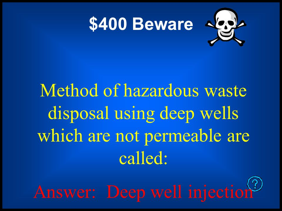 $200 Beware Waste that is ignitable, corrosive, chemically reactive or toxic is considered to be.