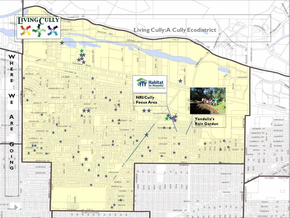 Living Cully: A Cully Ecodistrict NRI/Cully Focus Area Yondella's Rain Garden