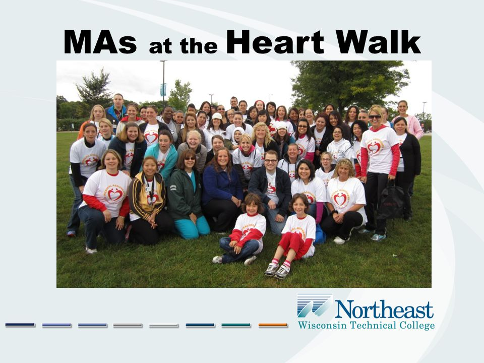 MAs at the Heart Walk