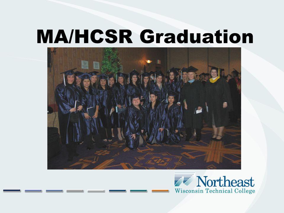 MA/HCSR Graduation