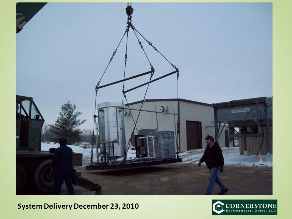 System Delivery December 23, 2010