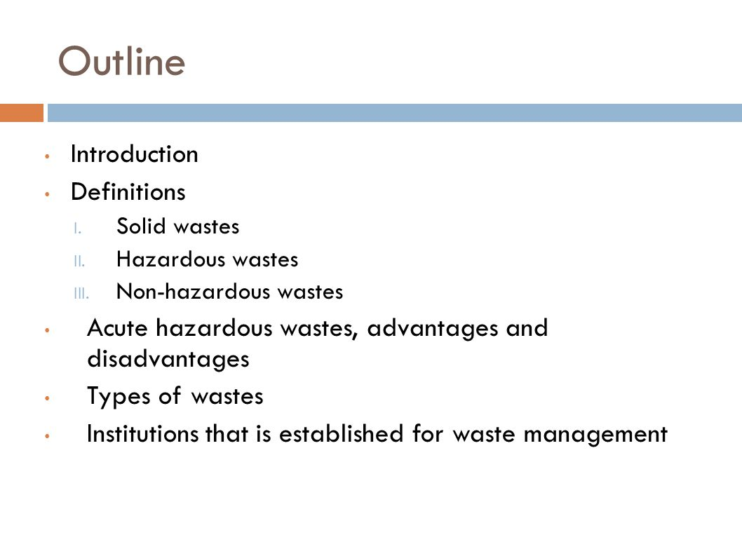 QUESTION.Name four of the solid waste types and give an example to each of them.
