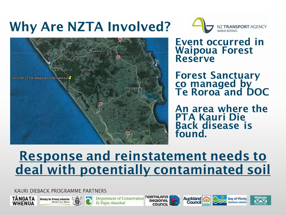 Why Are NZTA Involved.