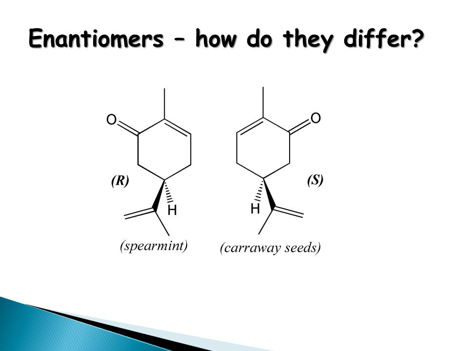 Enantiomers – how do they differ?