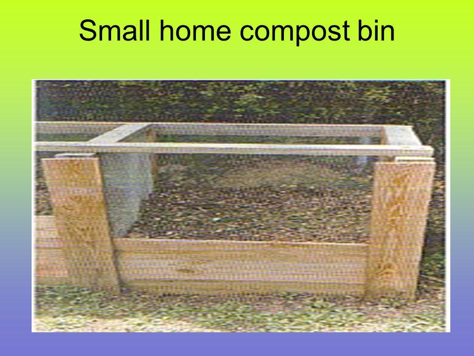 Small home compost bin
