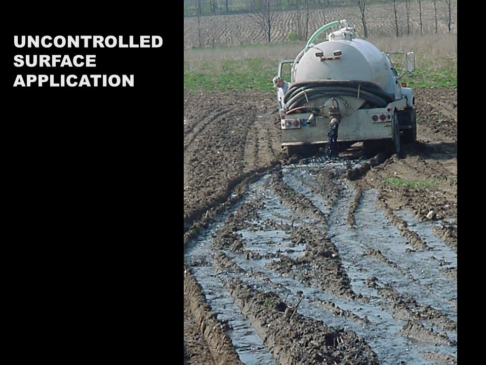 UNCONTROLLED SURFACE APPLICATION