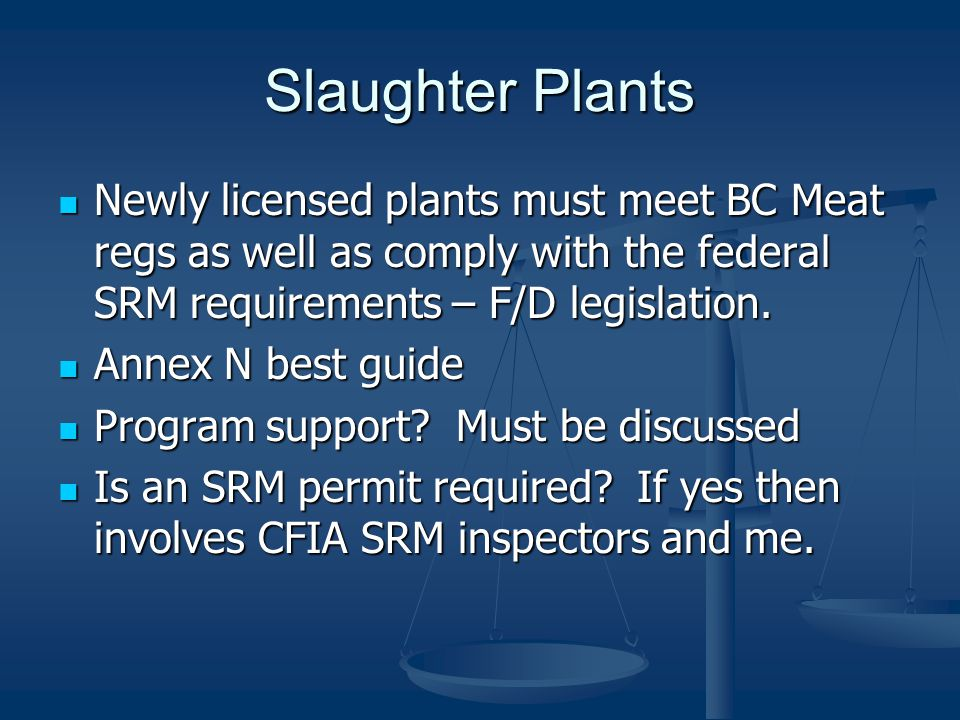 How to know if SRM permit required.If plant receives or transports SRM.