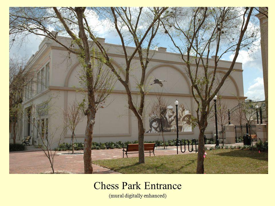 Chess Park Entrance (mural digitally enhanced)