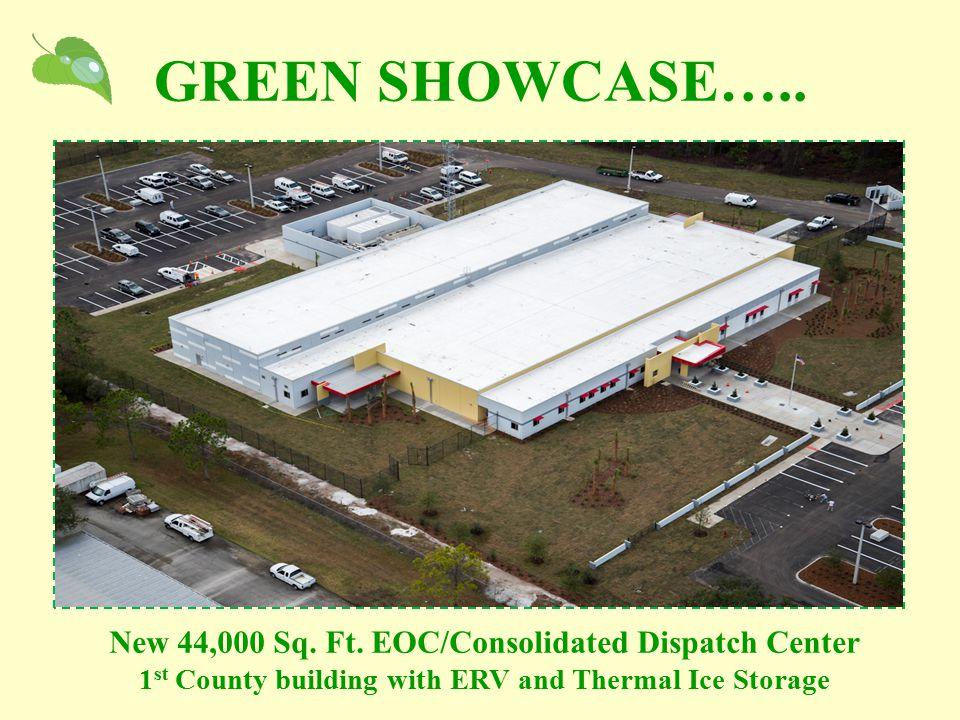 GREEN SHOWCASE….. New 44,000 Sq. Ft.