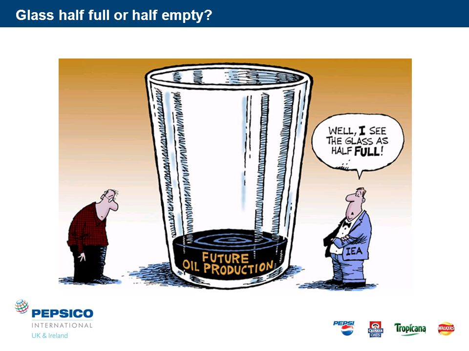 Glass half full or half empty