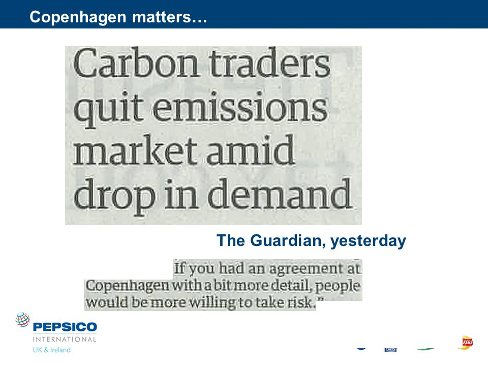 Copenhagen matters… The Guardian, yesterday