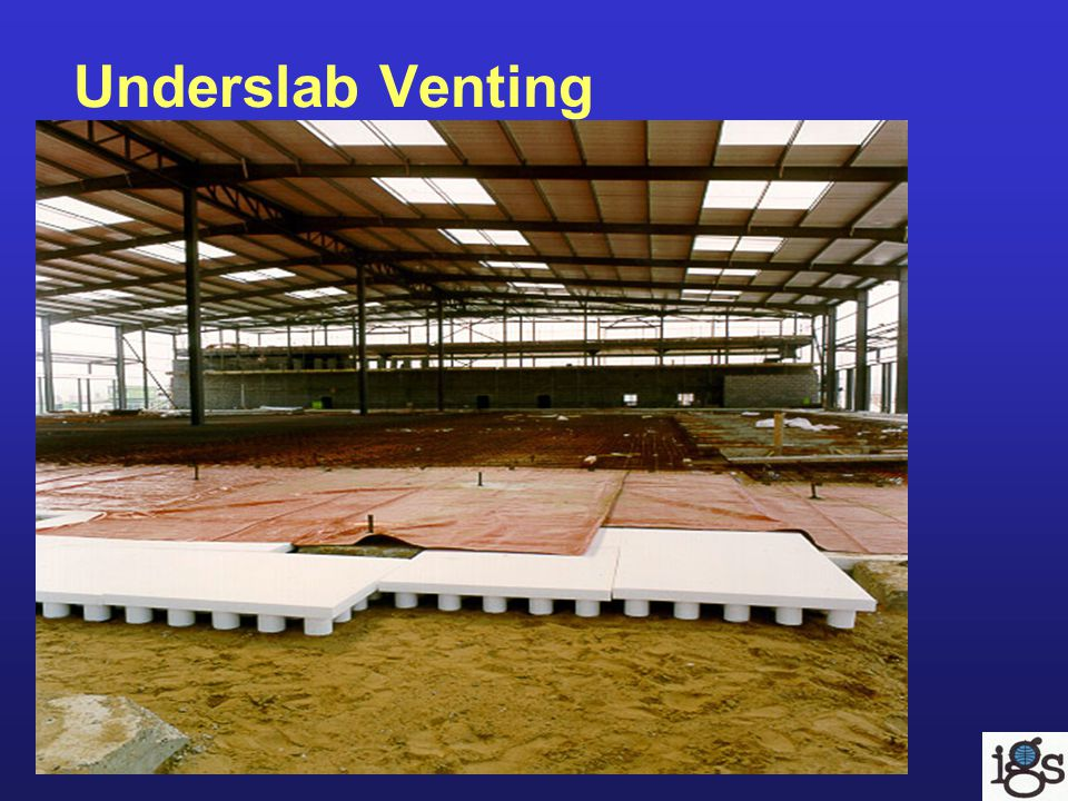 Underslab Venting