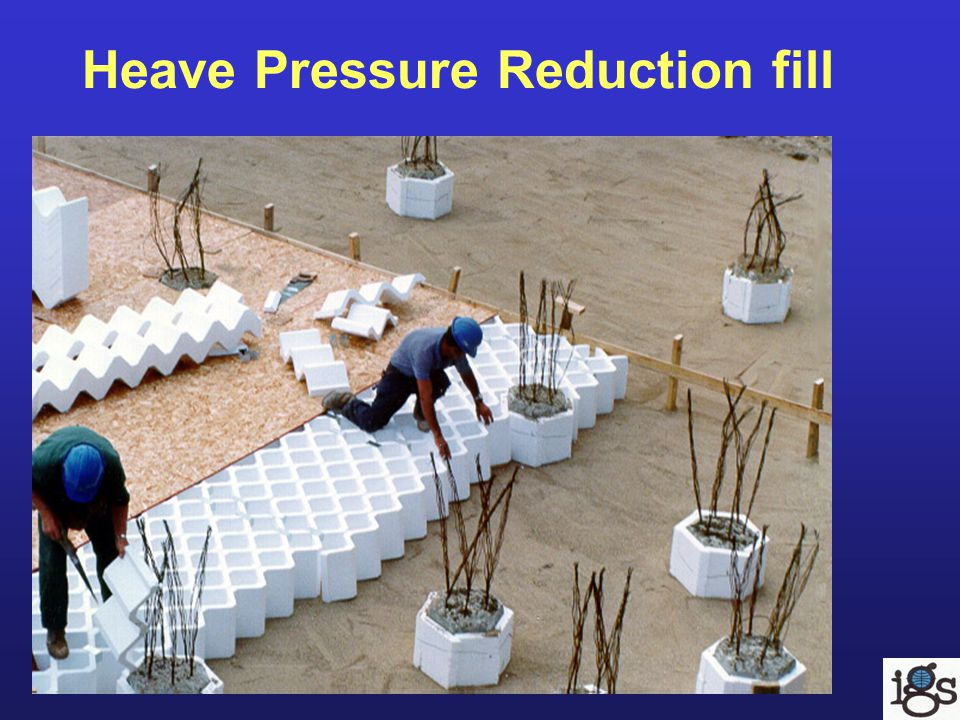 Heave Pressure Reduction fill