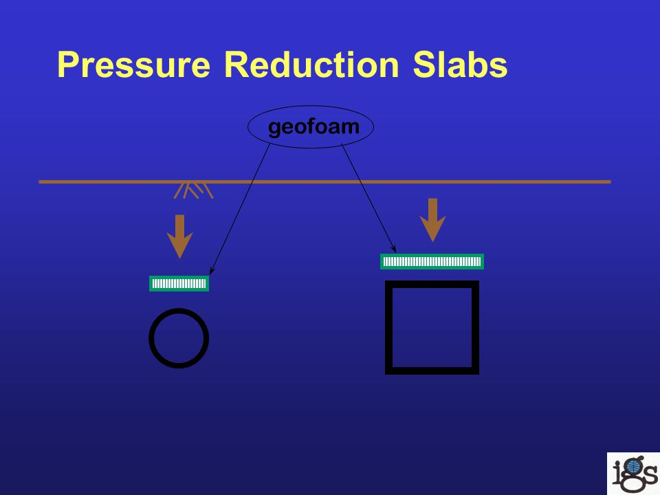 geofoam Pressure Reduction Slabs