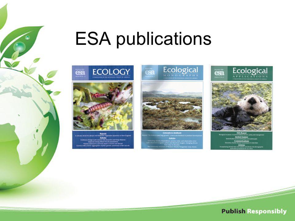 ESA publications