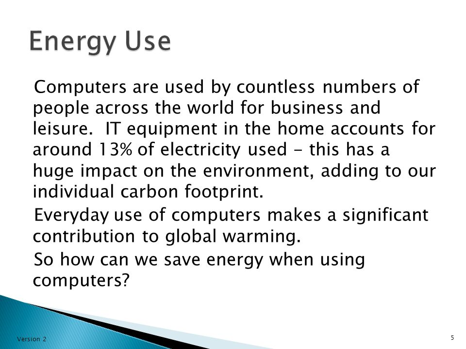 Computers are used by countless numbers of people across the world for business and leisure.