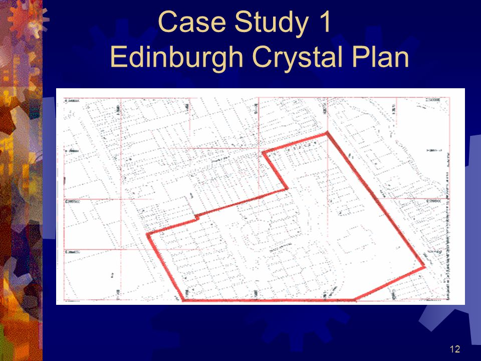12 Case Study 1 Edinburgh Crystal Plan