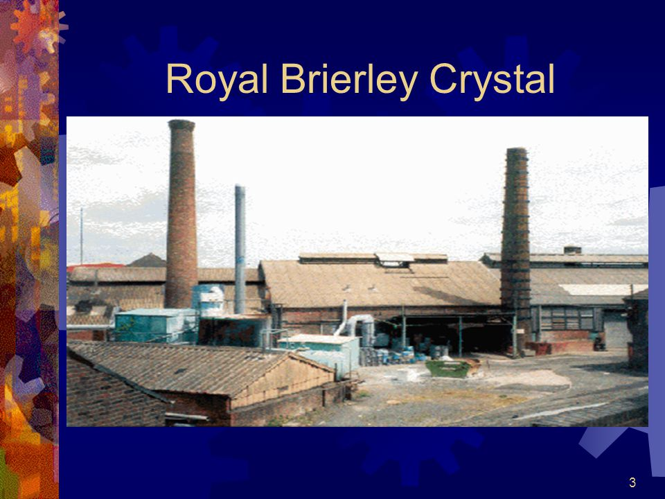 3 Royal Brierley Crystal