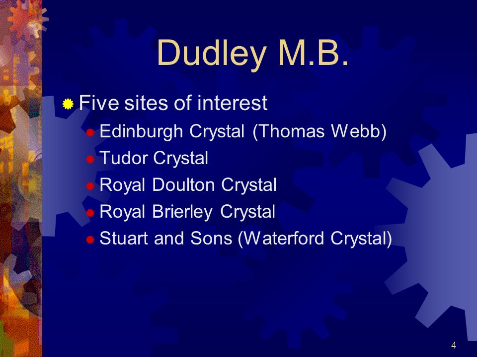 4 Dudley M.B.