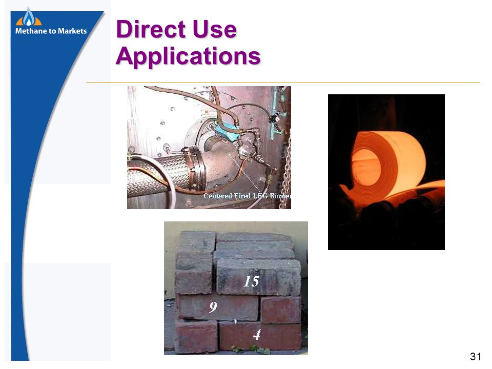 31 Direct Use Applications