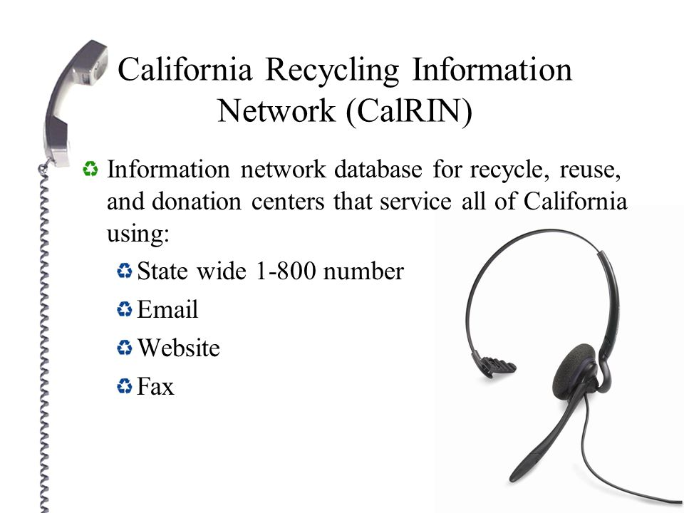 Data Management Collection for recycling, reuse, and donations will be disseminated, but not limited, for public use