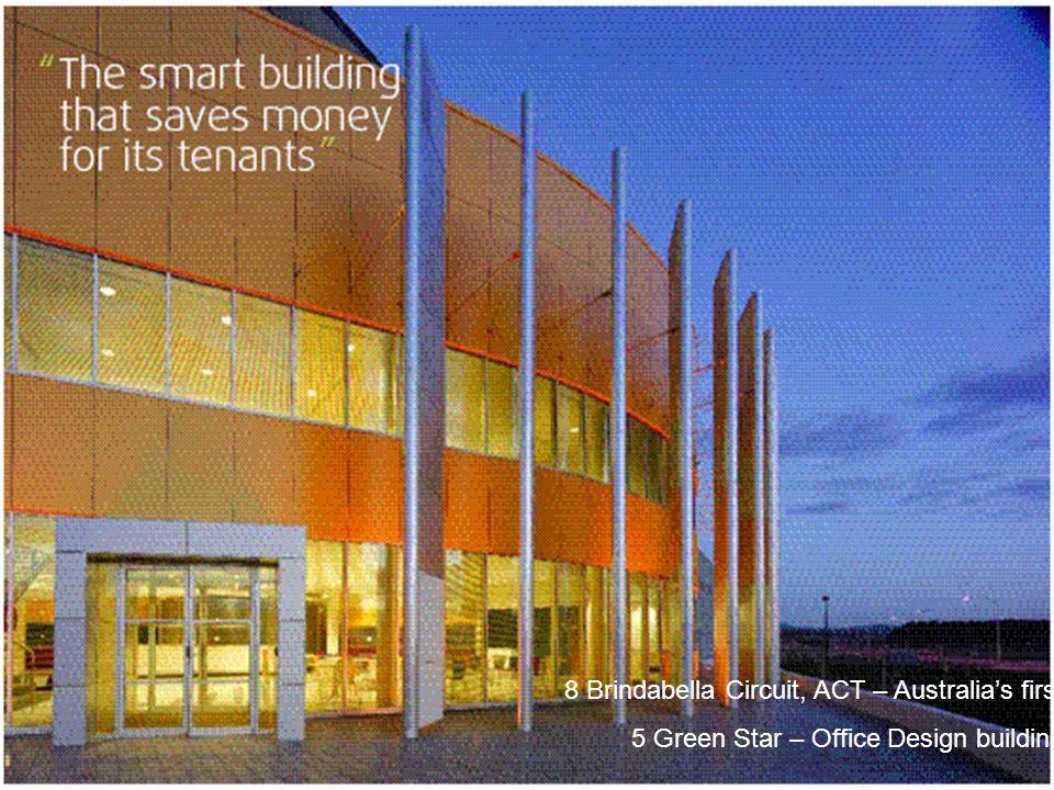 8 Brindabella Circuit, ACT – Australia's first 5 Green Star – Office Design building