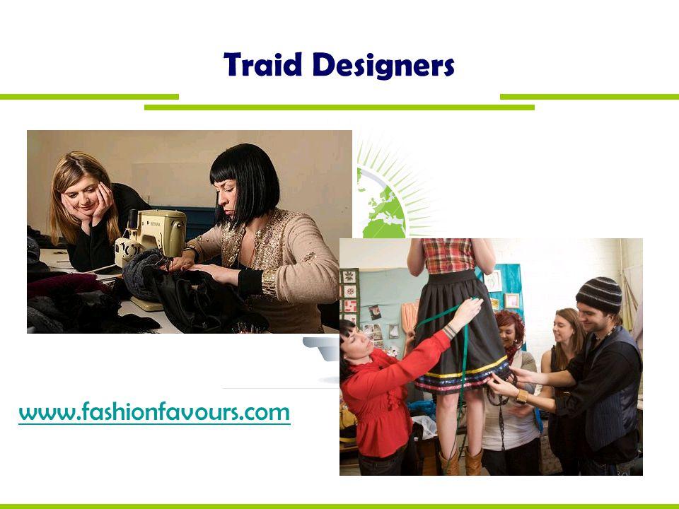 Traid Designers www.fashionfavours.com