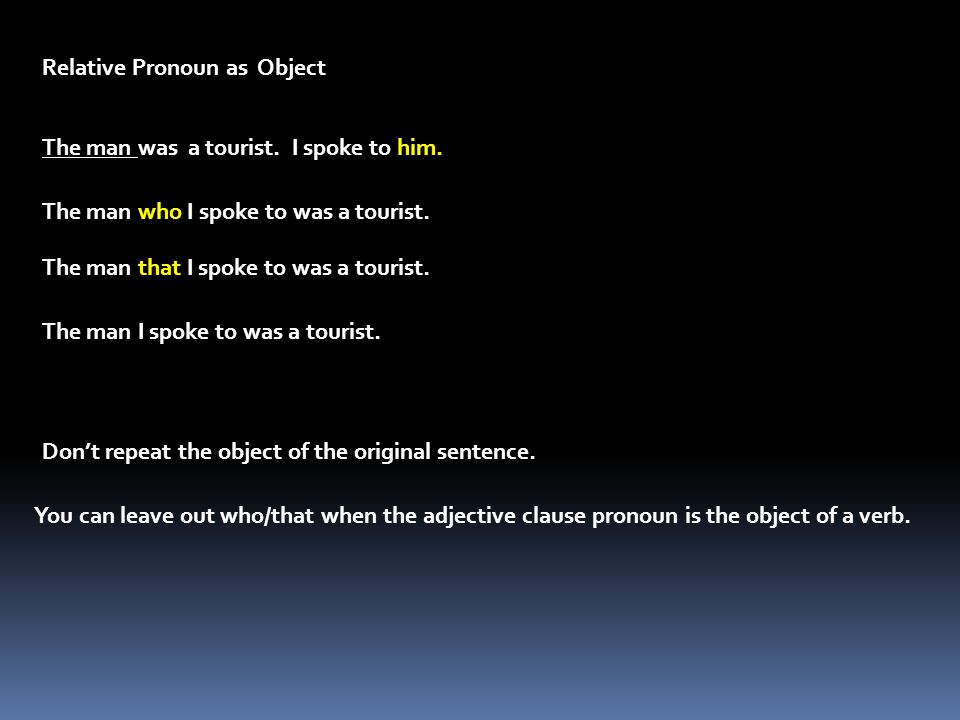 In everyday use, the preposition comes at the end of the adjective clause.